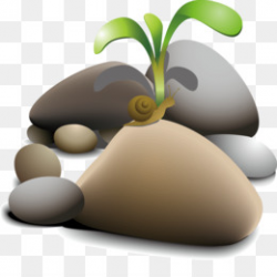 Rock Royalty-free Clip art - Grass stone png download - 800*631 ...