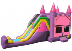 5 in 1 Super Combo Princess Bounce House