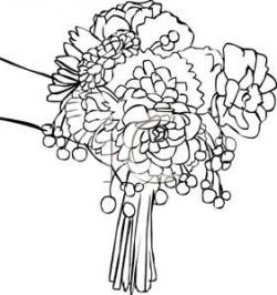 Bridal Bouquet Free Clipart