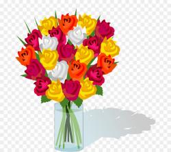Bouquet Of Flowers Clip Art PNG Flower Bouquet Clipart ...
