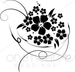 Bridal Bouquet Clipart | Flower Clipart