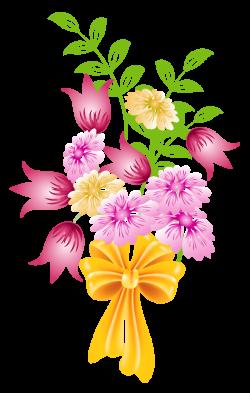Spring Flower Bouquet Clip Art Background 1 HD Wallpapers   Flowers ...
