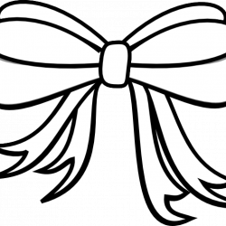 Bow Clipart Black And White pizza clipart hatenylo.com