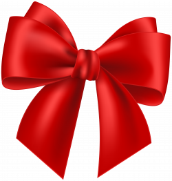 Red Bow Transparent Clip Art Image | Gallery Yopriceville - High ...
