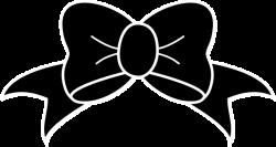 Cheer Bow Clip Art at Clker.com - vector clip art online, royalty ...