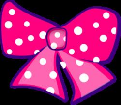 Pink Bow Clip Art at Clker.com - vector clip art online, royalty ...