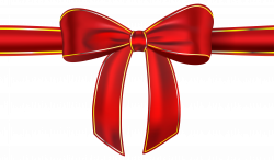 Red Ribbon with Bow PNG Clipart Picture | Gallery Yopriceville ...