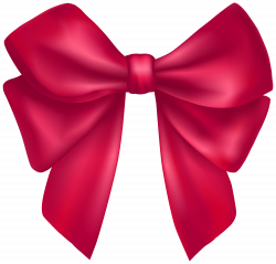 Dark Pink Bow PNG Clipart - Best WEB Clipart