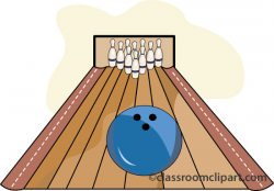 Bowling Alley Clipart