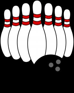 Bowling Clip Art | Bowling Ball and Pins | BOWLING | Pinterest ...