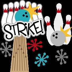 Strike! SVG scrapbook files bowling svg files for scrapbooking ...
