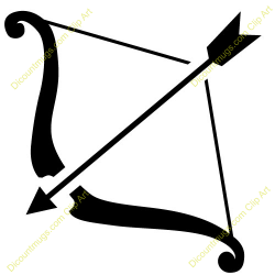 Bow and Arrow Clip Art | Icons Symbols etc | Pinterest | Bow arrows ...