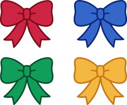 Awesome Bow Clipart Design - Digital Clipart Collection