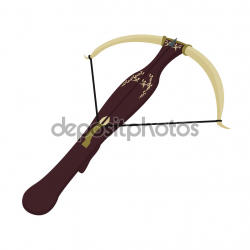 Clipart medieval knight with bow and arrow