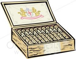 Cigar Box Clipart | Groom Clipart