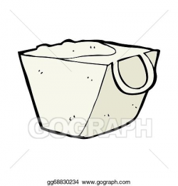 Stock Illustration - Cartoon noodle box. Clipart Illustrations ...