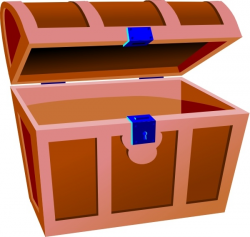Treasure Chest clip art Free vector in Open office drawing ...