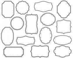 Decorative Text Boxes Decorative Text Box Clipart Decorative Text ...