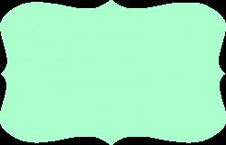Fancy Text Box Clipart