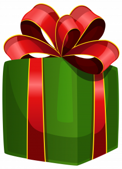 Green Gift Box PNG Clipart - Best WEB Clipart