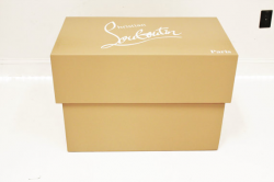 Giant christian louboutin shoe box high heels storage box