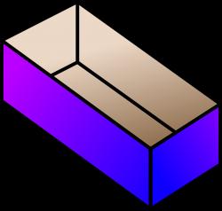 Clipart - shoe box