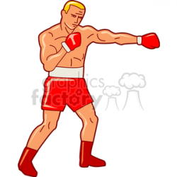 boxing204. Royalty-free clipart # 168711