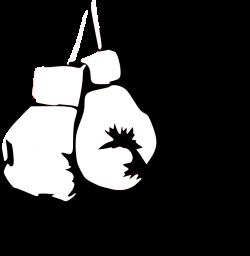 White Boxing Gloves Clip Art at Clker.com - vector clip art online ...