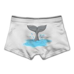 Ngyeyu Whale Tail Clipart Men's Underwear Cotton Vintage ...