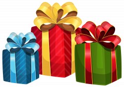 Colorful Gift Boxes PNG Clipart - Best WEB Clipart