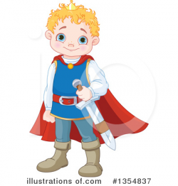Prince Clipart #1354837 - Illustration by Pushkin