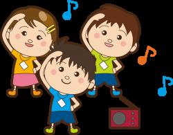 Clipart - Children Exercise (#2)