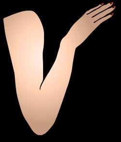 Public Domain Clip Art Image | St Patricks Girl Right Arm | ID ...