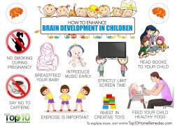 How to Enhance Brain Development in Children | Top 10 Home Remedies