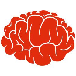 File:Red Silhouette - Brain.svg - Wikimedia Commons