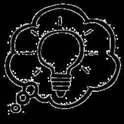 Bubble Brainstorming Clipart