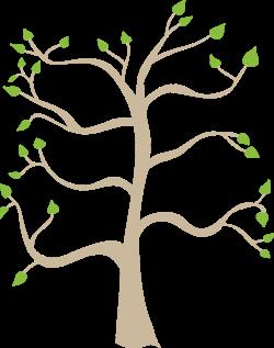 Family tree clip art related keywords | Clip Art | Pinterest ...