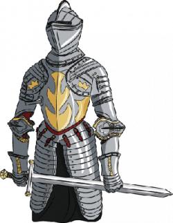 Medieval Knight with Sword | Clipart | The Arts | Image | PBS ...