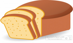 Food Clipart- loaf-sliced-bread-clipart-5121 - Classroom Clipart