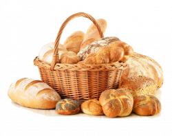 Bakery Panini Small bread Clip art - Basket bread material free to ...