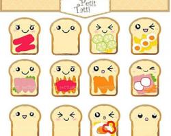 Bread clipart | Etsy