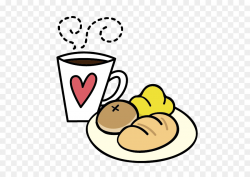 Breakfast Coffee Food Bread Clip art - Cartoon cute breakfast png ...