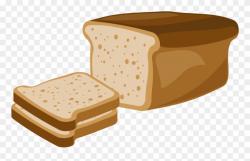 Toast Rye Bread Breakfast White Bread Clipart (#2181943 ...