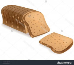 Best Whole Grain Bread Vector Library » Vector Images Stocks ...