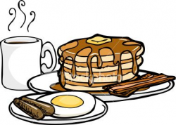 Men's breakfast clipart black and white - ClipartFest | Welcome Bag ...
