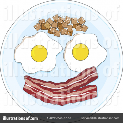 Breakfast Clipart #1107872 - Illustration by Maria Bell