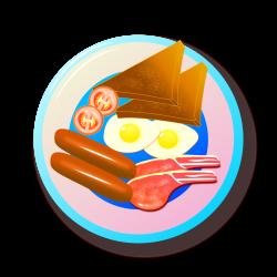Clipart - Full English Breakfast