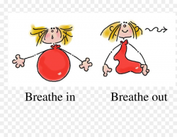 Diaphragmatic breathing Clip art - anxiety png download - 3300*2550 ...