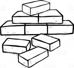 Bricks Drawing at GetDrawings.com | Free for personal use Bricks ...