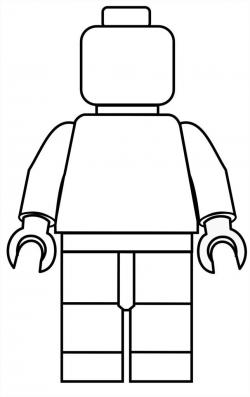 Free Lego Printable Mini Figure Coloring Pages #free #lego LEGO LEGO ...